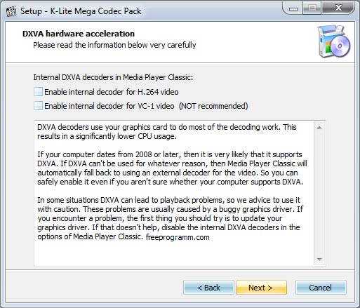 Codec k lite free download